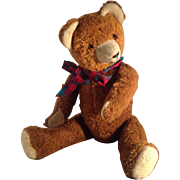 "Gorgeous 1950s German Teddy Bear. 20"""