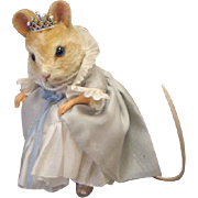 "SOLD 3"" R. John Wright ""Cinderella"" Mouse from Fairy Tales Series Limited Editi"