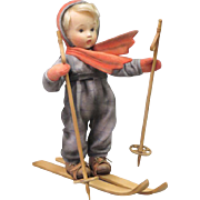 "12"" R. John Wright Hummel ""Skier"" Doll Limited Edition 150 Pieces"
