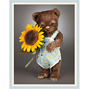 """10.5"""" R. John Wright """"Christopher"""" Toddler Bear Limited Edition 150 Pieces"""