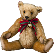 """R. John Wright 12"""" Christmas Willoughby Artist Bear Limited Edition 250"""