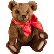 """R. John Wright """"Woodruff"""" Bear Holiday Candy Container Limited Edition 150"""