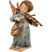 "12"" R. John Wright Hummel Celestial Musician Doll Limited Edition 150 Pieces Artist Doll"