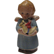 Vintage Goebel(Hummel) 41-236 Angel with Rocking Horse a True Gem
