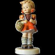 Vintage Goebel Germany Erster Schulgang,Madchen School Girl # 81-0