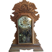 Waterbury Oak Kitchen Clock