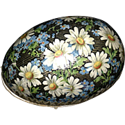 Nice Old German Paper Easter Egg / Candy Container - Minor Damage