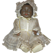 """RARE Black Horsman Character Baby Dolly Dimples 15"""""""