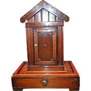 SALE 19th century Victorian Outhouse Inkwell