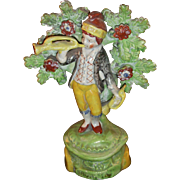 Early Bocage Staffordshire Figure - Famous Showman Piece