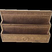 Tiffany Studios Adams Bronze Letter Rack 1779