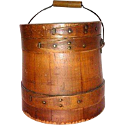 19th Century Wooden Bucket