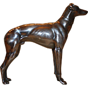 Detailed Greyhound Statue