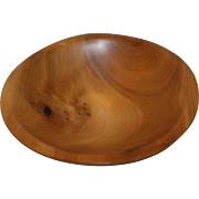 Monticello Tulip Poplar Bowl Form or Sculpture 339 By Kirk McCauley