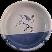 Vintage Otagiri Unicorn Ashtray