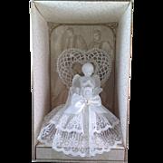 Vintage Lillian Rose Wedding Cake Topper