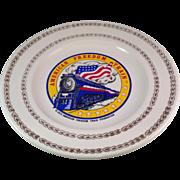 Vintage American Freedom Train Commemorative Plate