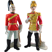Vintage Shafford Japan Imperial Soldier Figurines