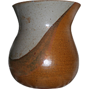 SALE Gerry Eskin (Iowa Artisan 1934-2011) Museum Wothy Signed Ceramic Vase