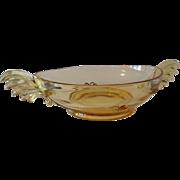 REDUCED Fostoria Glass Baroque Pattern Centerpiece