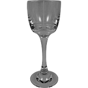 BACCARAT TRANQUILITY by BARBARA BARRY Large/Tall Water Goblet
