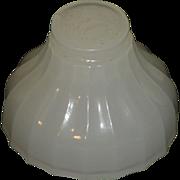 Rare Jefferson Lamp Co. Moonstone  Glass  Miniature  paper weight