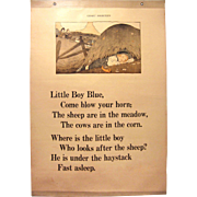 Little Boy Blue & Little Bo Peep Classroom Chart