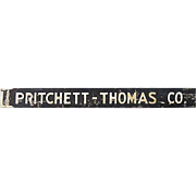 SALE Pritchett-Thomas Co. Property Management Trade Sign