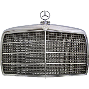 SALE Authentic Mercedes Grille, Automobile Advertising Display