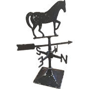 REDUCED Miniature Horse Weathervane