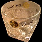 Vintage J.W. Dant Highball Glass