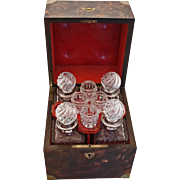 French Coromandel Decanter Box