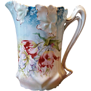RS Prussia Iris Mold Variant Milk Pitcher