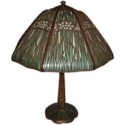 Handel Paperwhite Narcisuss Overlay Table Lamp