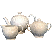 White Wedgwood Tea Set