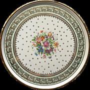 Limoges, France Round Platter,