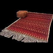 SALE Vintage moroccan rug mat Vintage Moroccan Wool Straw Rug 6x9 Vintage Moroccan hassira ...