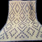 SALE Large Sahara Mat Nomad & Vintage Mauritanian Sahara Straw Mat, 9x15 Vintage Rug Beni ...