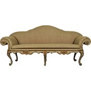 Elegant Late 18th Century Venetian Gilded Canape Sofa