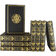 A Decorative Book set of the Messages & Papers of the Presidents, S/8