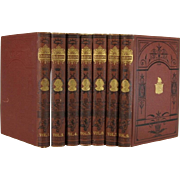 Pictorial Decorative Book Set Edition of Works by Shakespeare, S/7