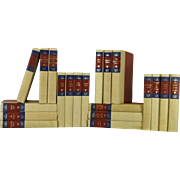 A Decorative Book Set from the Zane Grey Library S/20
