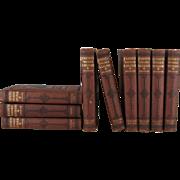 Journeys Through Bookland Vintage Decorative Book Set, S/9