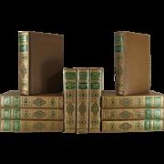 Brown Decorative Book Set of World's Greatest Literature
