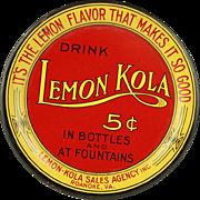 Vintage Lemon Kola Tin Tip Tray
