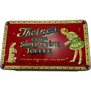 Vintage Thornes Toffee Tin