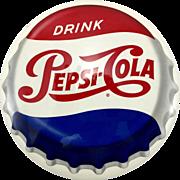 Vintage Celluloid Pepsi Sign C. 1950