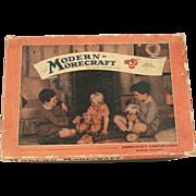 Vintage Morecraft Erector Set c.1937