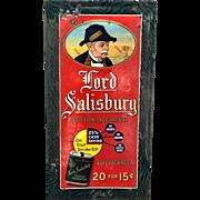 Tin Lord Salisbury Tobacco Sign