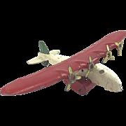 Wyandotte China Clipper Toy Airplane c. 1940's